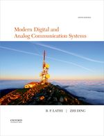Lathi: Modern Digital and Analog communication Systems