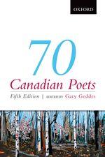 Geddes 70 Canadian Poets