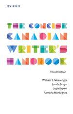 MESSENGER: The Concise Canadian Writer's Handbook 3e