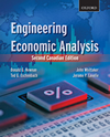 NEWNAN & WHITAKER / engineering economic analysis, 2nd cdn ed